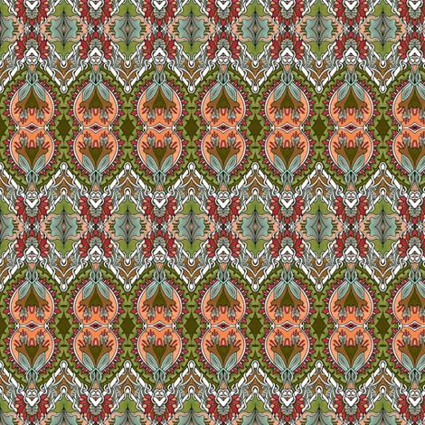 Zig Zag Good Egg Diamond Tangle fabric by edsel2084 on Spoonflower - custom fabric