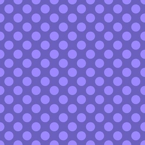 "Grape Dots 1/2"" Polka Dot"