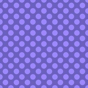 """Grape Dots 1/2"""" Polka Dot"""