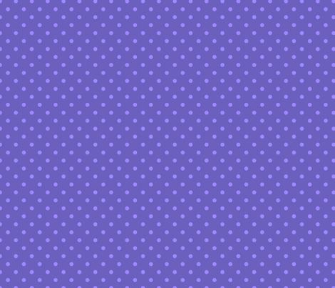 "Grape Dots Mini 1/4"" Polka Dot fabric by grapedots on Spoonflower - custom fabric"