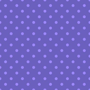 "Grape Dots Mini 1/4"" Polka Dot"