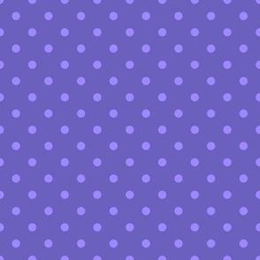 "Grape Dots Mini 1/4"" Polka Dot"