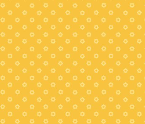 Lemon Poppy Dot fabric by bussybuffu on Spoonflower - custom fabric
