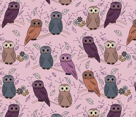 eulen&lerchen_birds#3 fabric by eulen&lerchen on Spoonflower - custom fabric