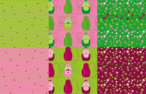 Dolltastic Fat Quarter_28inX18in fabric by zoebrench on Spoonflower - custom fabric