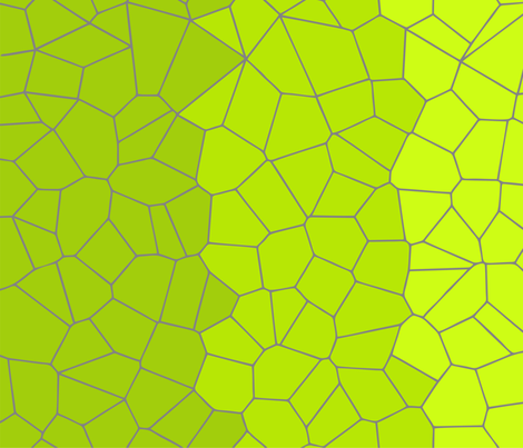 Gradient Voronoi - Amy Lee fabric by candyjoyce on Spoonflower - custom fabric