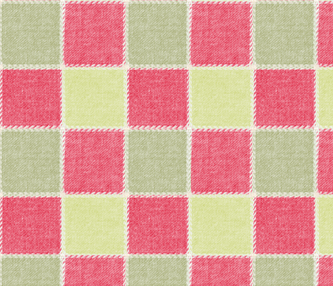 Christmas in the pink design 1 fabric by suziwollman on Spoonflower - custom fabric