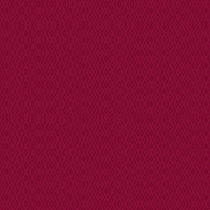 Modern Aztec Diamonds Deep Crimson