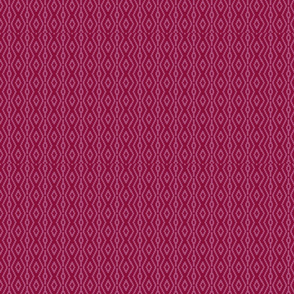 Modern Aztec in Red Plum