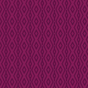Modern Aztec in Raspberry