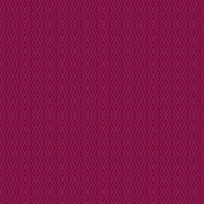 Modern Aztec in Cranberry
