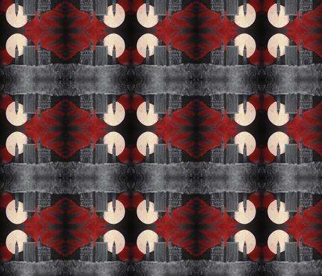 Gothic Backdrop Diamond Sky fabric by midnight_tribe on Spoonflower - custom fabric