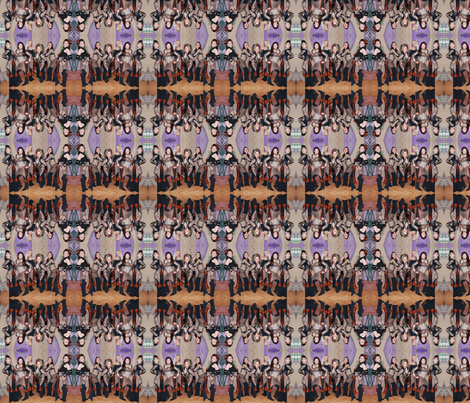 MidNight Tribe in Snake Costumes fabric by midnight_tribe on Spoonflower - custom fabric