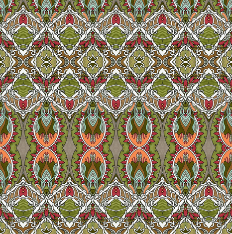 Howdy Cowboy fabric by edsel2084 on Spoonflower - custom fabric