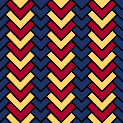 Chevron in Primary fabric by pond_ripple on Spoonflower - custom fabric