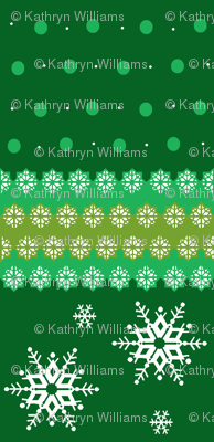 snowflakes_on_green_horizontal