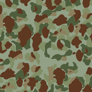 WWII USMC Marine and Army Camouflage