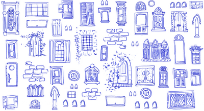 Windows and Doors Doodle