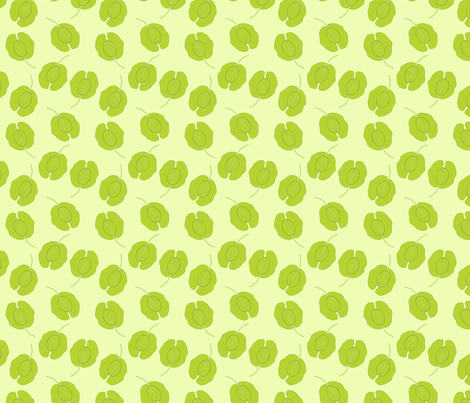 Field Pennycress Small Repeat fabric by roarin_betty on Spoonflower - custom fabric