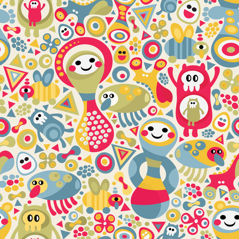 Funny textured. fabric by panova on Spoonflower - custom fabric