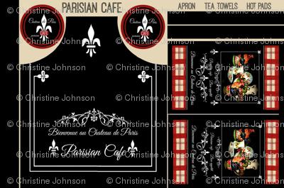 Parisian Cafe Apron