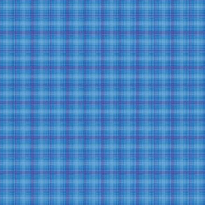 Shades of Blue Plaid
