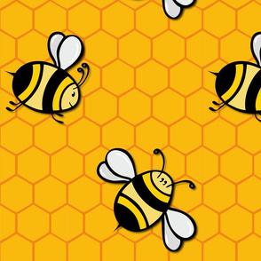 Bees Big (with shade).