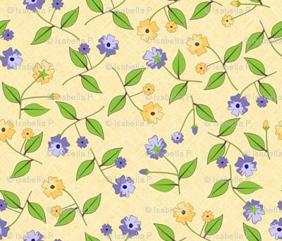 Flowers for the Pretty Birds - Sunshine