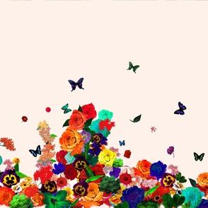 Flower Power Illustrated Art