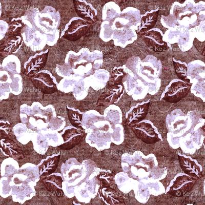 Rose on Parchment