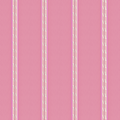 pinstripe_pink fabric by glimmericks on Spoonflower - custom fabric