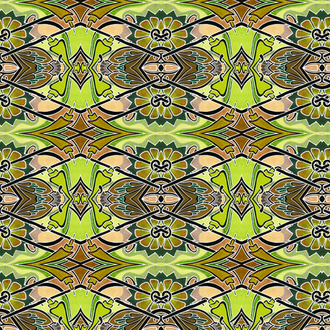 Jungle Boogie fabric by edsel2084 on Spoonflower - custom fabric