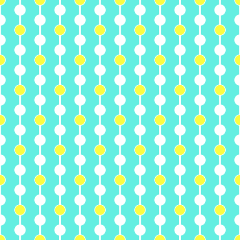 Connect the Dots fabric by mammajamma on Spoonflower - custom fabric