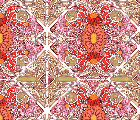 When the Wind Blows fabric by edsel2084 on Spoonflower - custom fabric