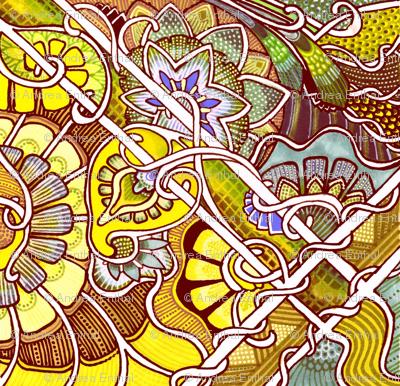 Tilted Tile Victorian Sunshine