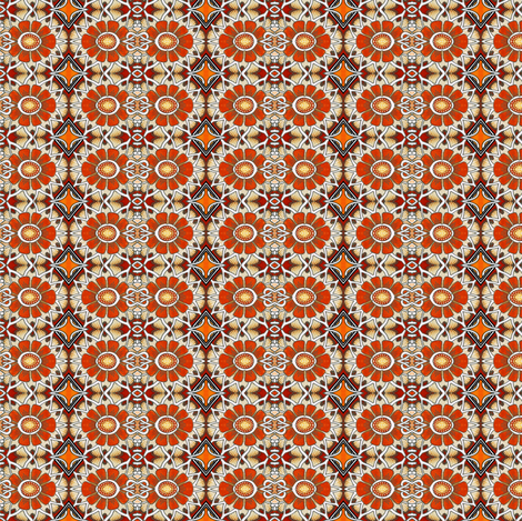 The Daisy Chain (part 2 of 2) fabric by edsel2084 on Spoonflower - custom fabric
