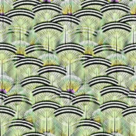 woodduck mint sv fabric by glimmericks on Spoonflower - custom fabric