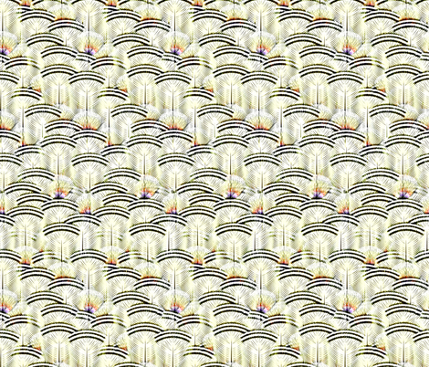 woodduck lemon frost fabric by glimmericks on Spoonflower - custom fabric