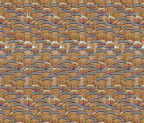 woodduck woodsie fabric by glimmericks on Spoonflower - custom fabric