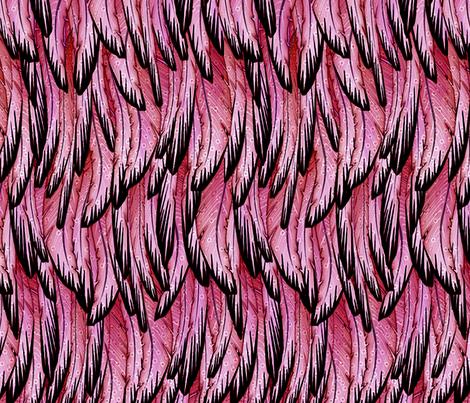 flamingo fabric by glimmericks on Spoonflower - custom fabric