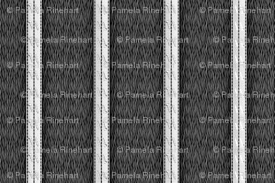 pinstripe black and white