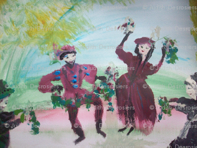 Christmas Tudor dance