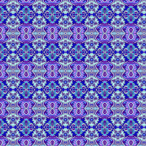 Doll Scale Nouveau deco geometric fabric by edsel2084 on Spoonflower - custom fabric