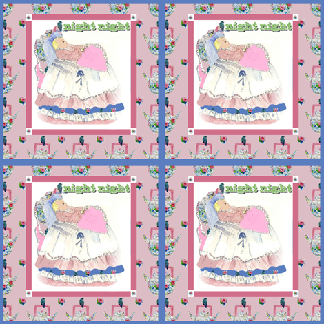 Night Night fabric by karenharveycox on Spoonflower - custom fabric