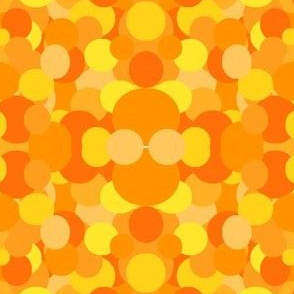 orange circles mirage