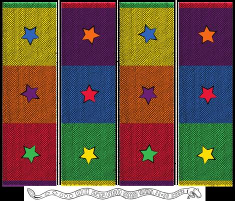 Lewellyn - Star Back fabric by scotty_c on Spoonflower - custom fabric