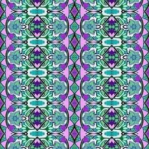 Purple + Green = Deco Garden