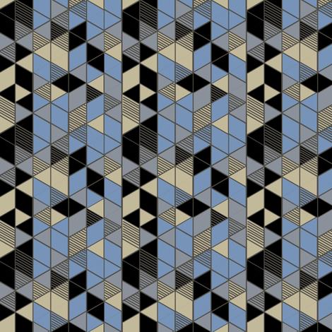 Gems: Silk Modern fabric by penina on Spoonflower - custom fabric