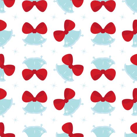 Jingle bells fabric by martinaness on Spoonflower - custom fabric