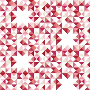 Simple Geometry Pink